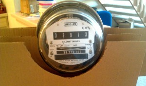 Electric Watt Hour Meter