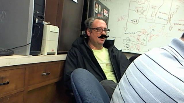 Google Hangout Mustache