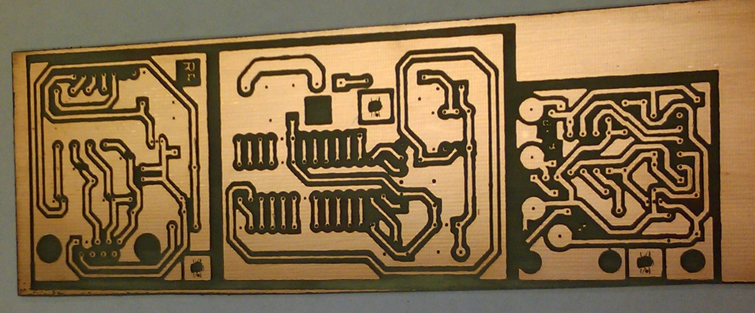 PCB laser etch