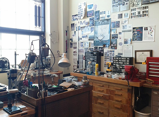 Frankie Flood's Workspace