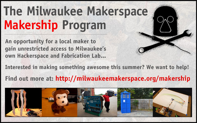 The Milwaukee Makerspace Makership Program
