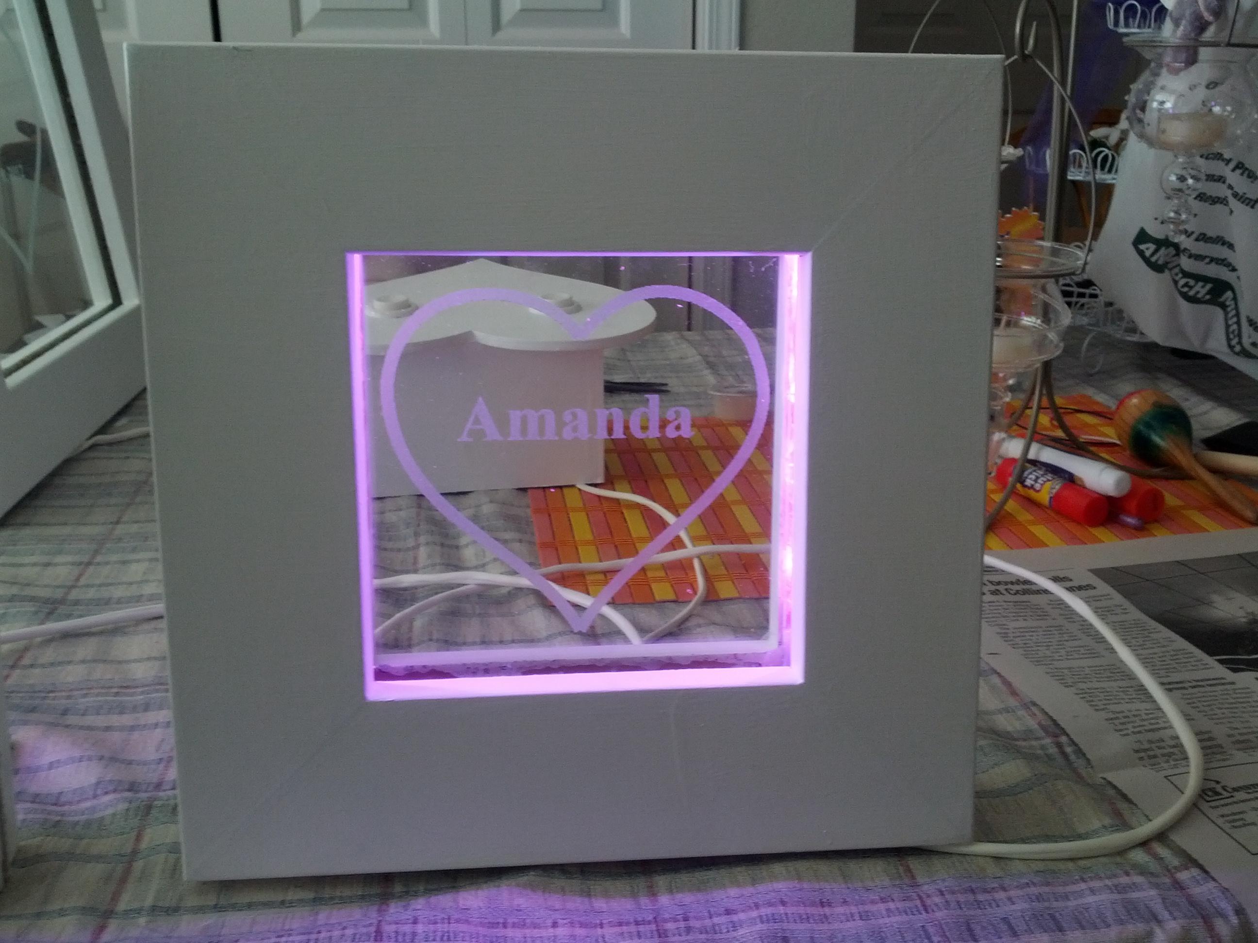 Amanda's Frame