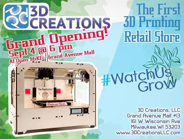 3D Creations Grand Opening Party