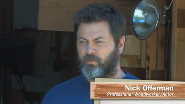 Nick Offerman, Come On Down! | Milwaukee Makerspace