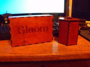 Gloom and Zombie DIce