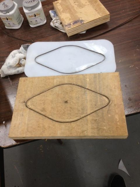DIY Bandsaw Blade Cutting Dies.