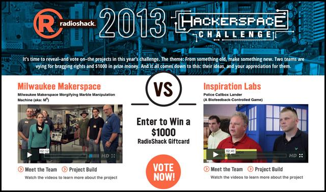 2013 Hackerspace Challenge!