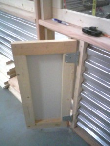 11 - outer door installed