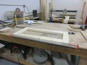 17 - frame glued up - 1
