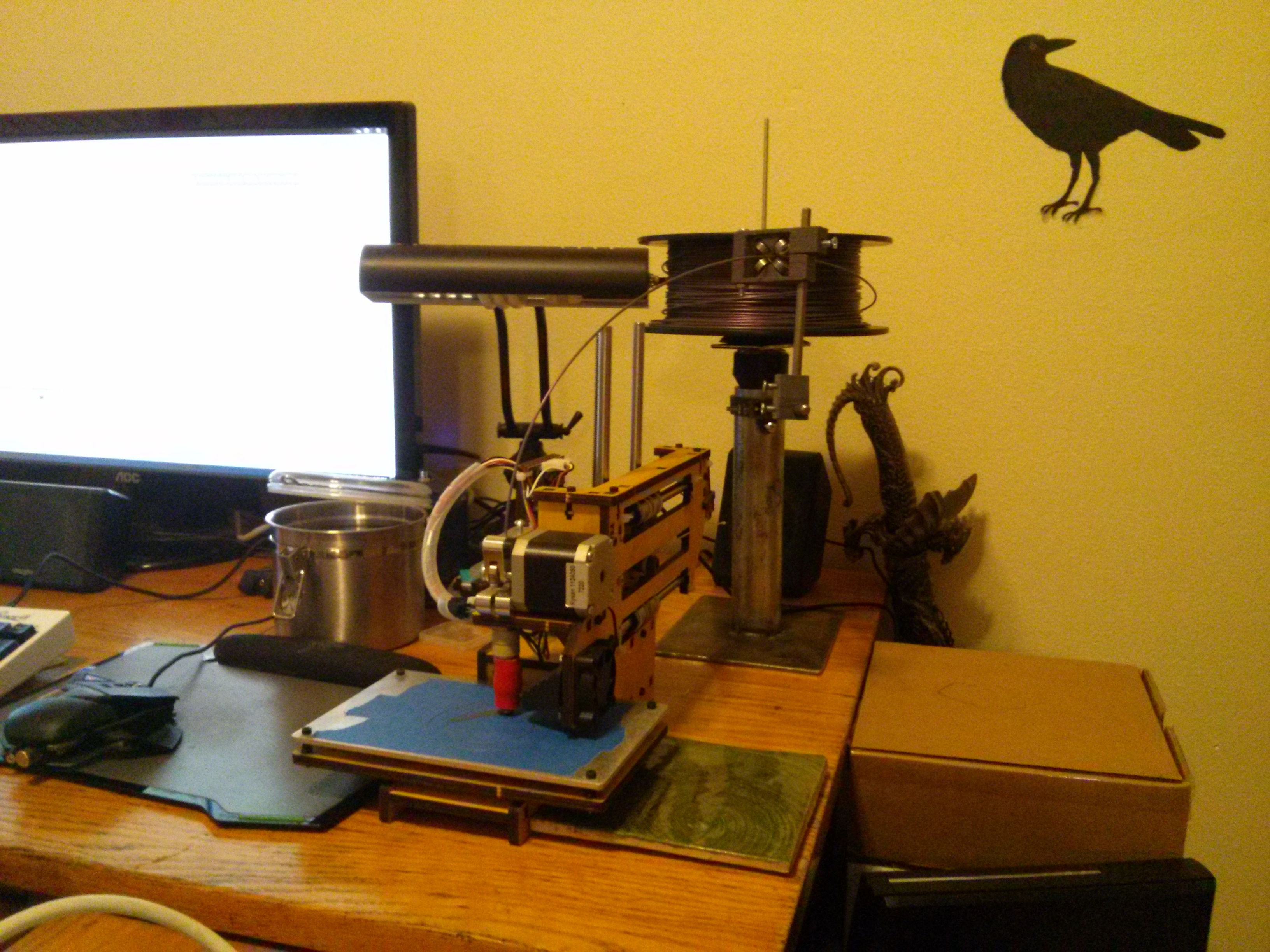 3dprinters milwaukee makerspace for Apartment makerspace
