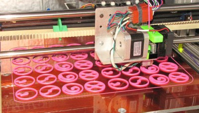Printing 40 whimsical wheels and once!