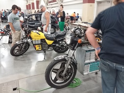 Ben Nelson's Electric Motorcycle