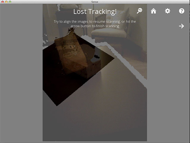 Lost Tracking