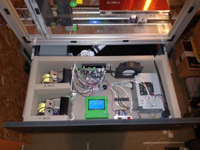 Son of MegaMax electronics drawer